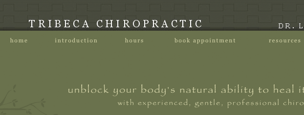 Tribeca Chiropractic | Launch Site